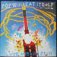 "POP WILL EAT ITSELF - Love Missile F1-11 - Vinyl Maxi 12"" UK 1987"