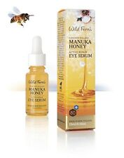 New Wild Ferns Manuka Honey Active Repair Eye Serum 15ml Firm Eye Skin Wildferns