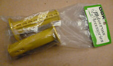 NOS vintage OGK grips BMX Handle bar yellow for kuwahara ET kz ke