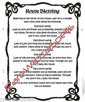 House HOme Blessing Spell for Wicca Book of Shadows Pagan Occult Ritual