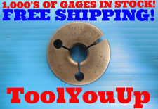 M18 X 1.5 6g SPECIAL METRIC THREAD RING GAGE .18.0 1.50 GO ONLY P.D. = .6702