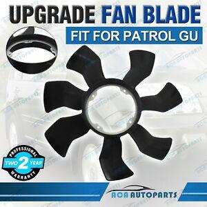 Fit For Nissan Patrol GU Fan Blade Upgrade G35 TD42 TD42T Y61 Cooling