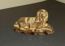 Antique Redware Dog Folk Art Figure Spaniel