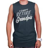 Retired Grandpa Fathers Day Grandfather Gift Sleeveless Tshirt Tank Top For Men