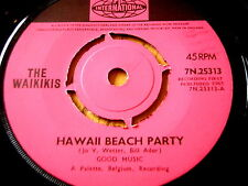 "THE WAIKIKIS - HAWAII BEACH PARTY  7"" VINYL"