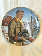 John Wayne Pine Ridge Collectors Plate By Franklin Mint