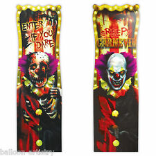 94 CM HALLOWEEN Carnaval Clown Cirque creepy lenticular partie Signe Décoration