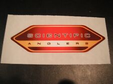 "Fly Fishing Sticker, Scientific Anglers, ""Fly Line"", 5"" X 1 3/4"", Tapered ends"