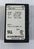 Allen-Bradley Terminal Block 1492-100Y Series B