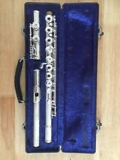 Solid Silver Germeinhardt Flute With Open Holes