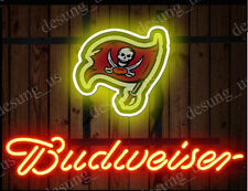 "New Budweiser Pittsburgh Pirates Beer Neon Sign 19""x15"" Ship From USA"