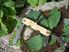 Ancien couteau tire bouchon publicitaire Champagne AYALA château d'AY