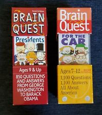 Brain Quest Curriculum-based Questions & Answers ~Presidents & All About America