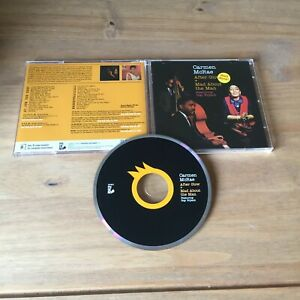 CARMEN McRAE - AFTER GLOW + MAD ABOUT THE MAN (2011 CD ALBUM) EXCELLENT COND