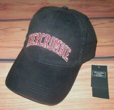 MENS ABERCROMBIE & FITCH NAVY BLUE ADJUSTABLE HAT CAP ONE SIZE