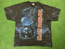 Vintage Iron Maiden Shirt All Over Print Men's Size 2XL 2000s Rare Tour All Over