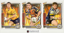 2006 Select NRL Accolades Trading Cards Base Card Team Set Eels (10)