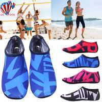 Unisex Men Women Water Shoes Aqua Socks Beach Swim Wetsuit Shoes Non Slip Summer