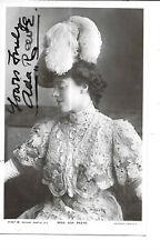 Edwardian Actress, Ada Reeve - Signed