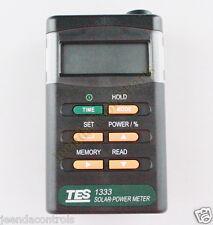 TES-1333 Solar Power Meter Digital Radiation Detector Solar Cell Energy Tester