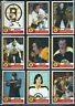 1974-75 BOSTON BRUINS Hockey Card Style Team Photo Set 30 Photo Cards BOBBY ORR