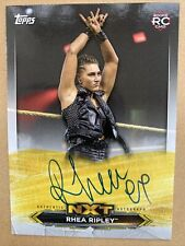 2020 WWE Topps Rhea Ripley RC On Card Auto NXT Rookie