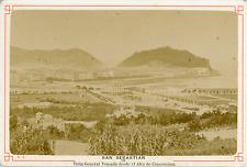 Espagne, San Sebastian, Vista général Tomada dès de el Alto de Concorenca  Vinta