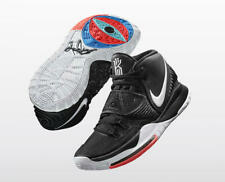 BNIB MENS Nike Kyrie 6 'Jet Black' Basketball UK 8 100%AUTH BQ4630 001