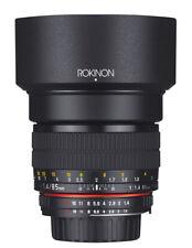 Rokinon 85mm F1.4 Full Frame Lens (Pentax K)