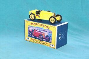 Matchbox Yesteryear Y6-2 Type 35 Bugatti (1926) - Code 3 (E18)