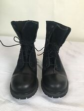 Men's Timberland Earth Keepers, Black Leather and Felt, Size 9, Excellent cond