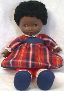 "Fisher Price 12""  Lapsitter African American Doll ELIZABETH #205"