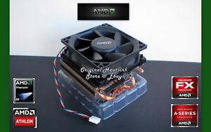 AMD FX Cooler for FX-8300-FX-8320-FX-8350 Processor-CPU with New Near Silent Fan