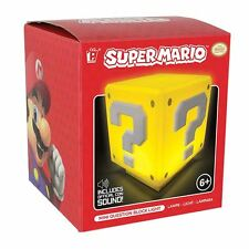 SOUS LICENSE OFFICIELLE NINTENDO SUPER MARIO BROS. Mini question Bloc clair