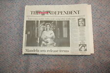 First issue The INDEPENDENT On Sunday 28th January 1990
