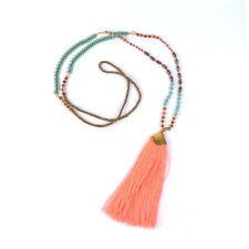 Beauty Modeschmuck-Halsketten & -Anhänger aus Stoff
