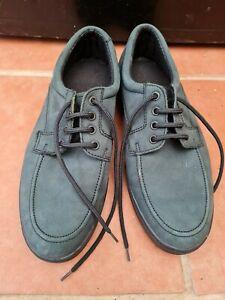 Mens Faux Suede Lace Up Shoes Size 7