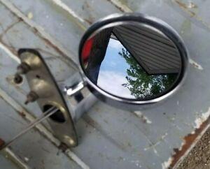 LH Mopar B F Body Remote Mirror Dodge Aspen Plymouth Volare