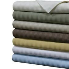 Cozy Bedding Collection 1000TC Egyptian Cotton US King Size Striped Colors