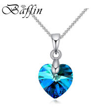 BAFFIN Mini XILION Heart Pendant Necklace Crystals From SWAROVSKI