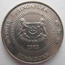 SINGAPORE 10 CENTS 1993