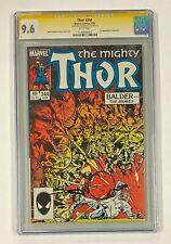 THOR #344 Marvel Walt Simonson Signed 2013 CGC 9.6 Malekith 1st Appearance