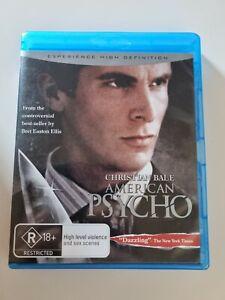 American Psycho BLU RAY (2000 Christian Bale thriller movie)