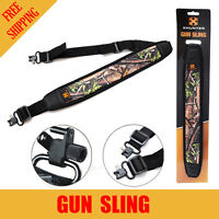 Xhunter Shooting Gun Hunting Rifle Shotgun Sling Camo Textured Backing + Straps