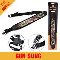 Xhunter Shooting Gun Hunting Rifle Shotgun Sling Camo Textured Backing + Straps