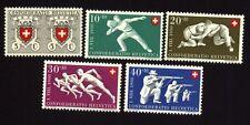 Schweiz 545/49 Bundesfeier postfrisch