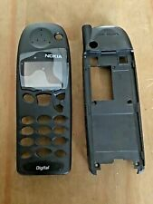 REPLACEMENT FRONT FASCIA & BACK HOUSING COVER - NOKIA 5110 5130 5146 - BLACK