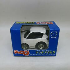 CHORO Q TOMY TAKARA JAPAN PULLBACK CAR MAZDA 3 HATCHBACK WHITE