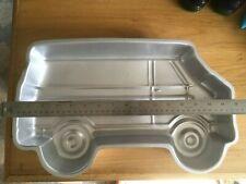 vintage 1978 Wilton van Cake Pan 502-7652 Baking Mold Aluminum Scooby Doo