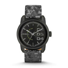 Diesel Not So Camo Black Quartz Analog Men's Watch DZ1664